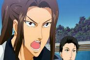 Shishido with long hair