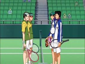 Koharu-Yuji pair VS Momoshiro-Kaido pair