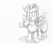 When I grow up, I wanna be a pony!... Why do ya' look sad