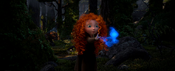 Merida catching the wisp