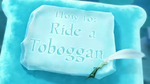 How to Ride a Toboggan
