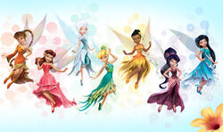 All Disney Fairies