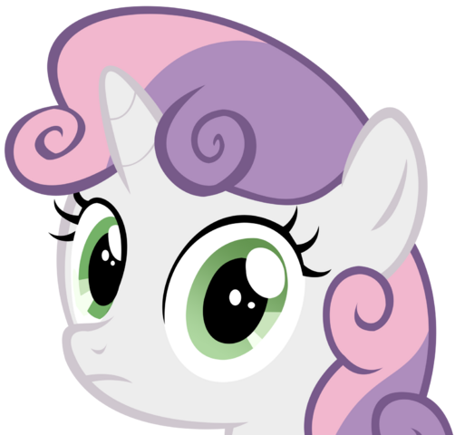 File:Sweetie belle stare by speedingturtle-d4ancxp.png