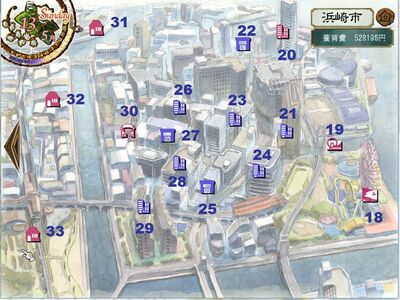 Town Map East (PM5)