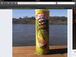 Pringles sour cream and dill