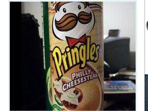 Pringles philly cheesesteak