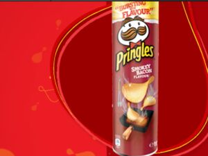 Pringles smokey bacon