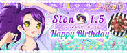 Happy Brithday Shion Official