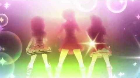 プリパラ PuriPara - EPISODE 1 - 「SAINTS」 - Aira & Mia & Naru - 「Make it!」