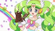 Falulu and a horse