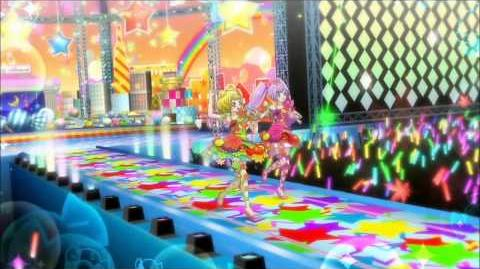 (HD) PriPara プリパラ - EPISODE 10 - Laala & Mirei - Marble Make Up A Ha Ha!-1