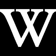 File:Wikipedia logo white.png