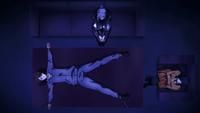 Anzu interrogation out cold