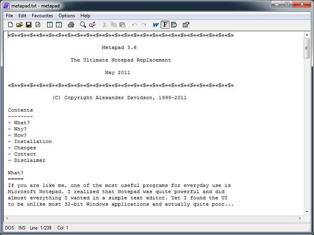 File:Metapad 3.6 screenshot.png