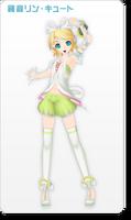 Kagamine Rin Cute PD2nd
