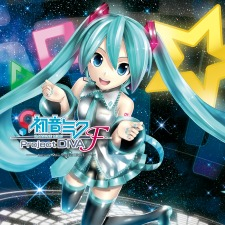Hatsune Miku Project DIVA F (PS3) digital box art