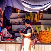 Flower vendor.