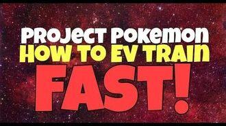 Roblox Project Pokemon How To Ev Train FAST!!