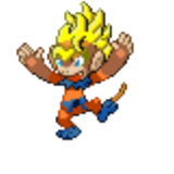 Gold Hair Dude Monferno