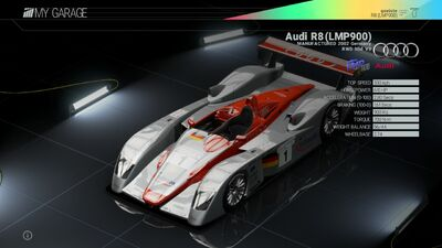 Project Cars Garage - Project Cars Garage - Audi R8 (LMP900)