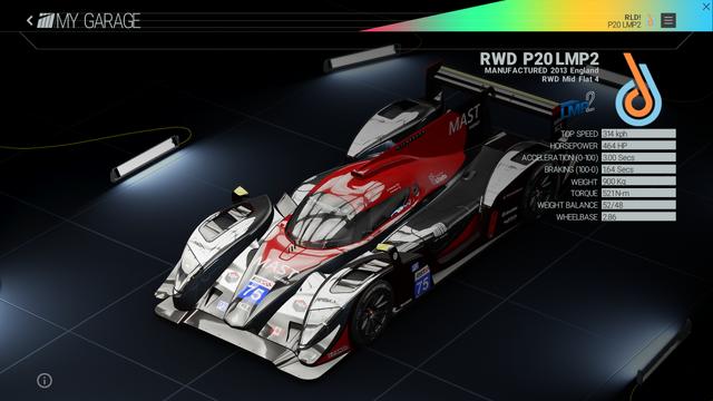 File:Project Cars Garage - RWD P20 LMP2.png