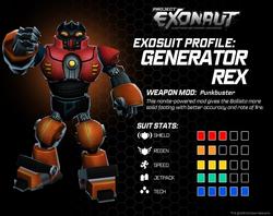 Generator Rex Stats