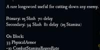 Flared Longblade