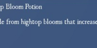 Hightop Bloom Potion