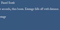 Fused Bomb