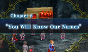 Chapter 6 - You Will Know Our Names