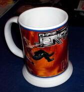 2001-2002 WWF Danbury Mint Mugs Chris Jericho