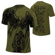 Bray Wyatt Follow The Light Authentic T-Shirt