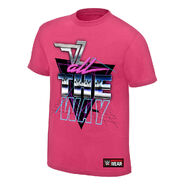 Dolph Ziggler All The Way Authentic T-Shirt