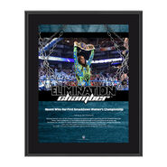 Naomi Elimination Chamber 2017 10 x 13 Commemorative Photo Plaque