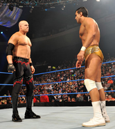 Kane and Del Rio ring