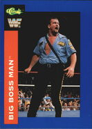 1991 WWF Classic Superstars Cards Big Boss Man 25