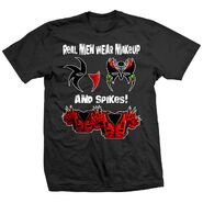 Legion of Doom Makeup & Spikes T-Shirt
