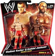 WWE Battle Packs 6 Vladimir Kozlov & Ezekiel Jackson