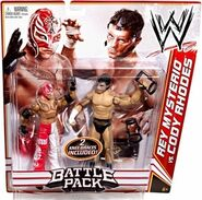 WWE Battle Packs 13 Rey Mysterio & Cody Rhodes