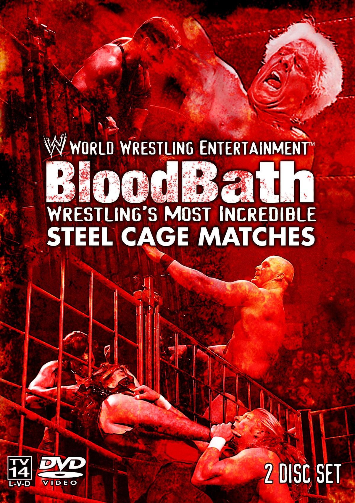 BloodBath: Wrestling's Most Incredible Steel Cage Matches ...
