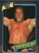 2008 WWE Heritage III Chrome Trading Cards Triple H 28