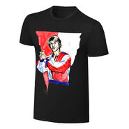 Kevin Von Erich Rob Schamberger Art Print T-Shirt