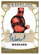 2016 Leaf Signature Series Wrestling Warlord 87