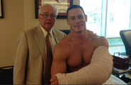 Jim Andrews and John Cena