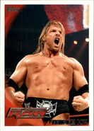 2010 WWE (Topps) Triple H 43