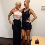 Dana Brooke and Lana