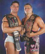 The British Bulldog and Owen Hart.4