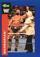 1991 WWF Classic Superstars Cards Barbarian 62