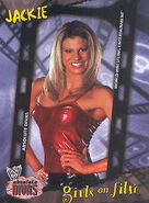2002 WWE Absolute Divas (Fleer) Jackie 100