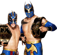 LuchaDragons titles